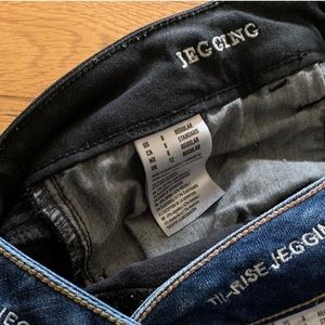 American Eagle Outfitters Jeans - Black Jeggings